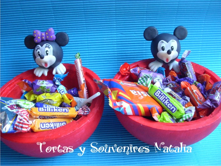 GOLOSINEROS MICKEY-MINNIE