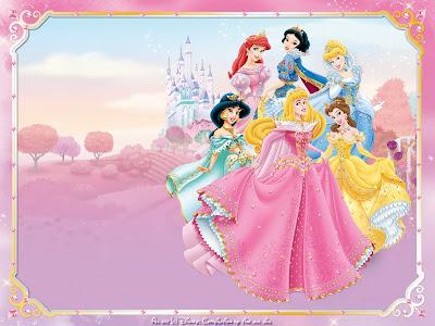 Wallpapers de las divertidas Princesas de Disney!