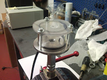 Set-up of the pressure test