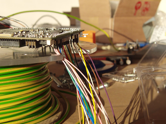 Soldered cables