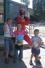 Me & the Red Ranger