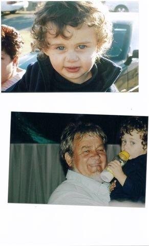 Alwyn & Christiaan jnr, seun van Christiaan snr & Marzaan