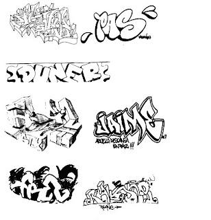 Arte urbano estilos de letras for Estilos de letras