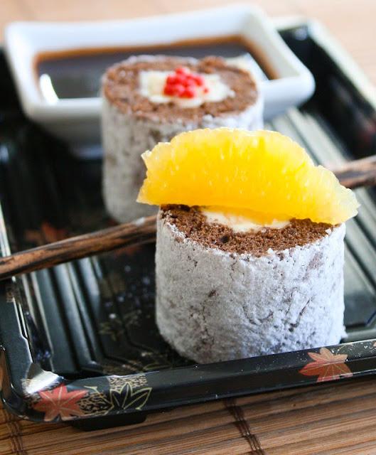 Tiramisu in Sushi style is Tiramisushi