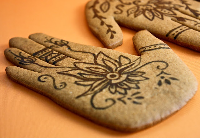 Mehndi Party Things To Do : Mehndi inspired spice cookies sprinkle bakes