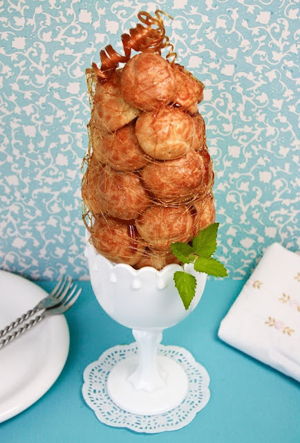 Piece Mont 233 E Or Croquembouche Sprinkle Bakes