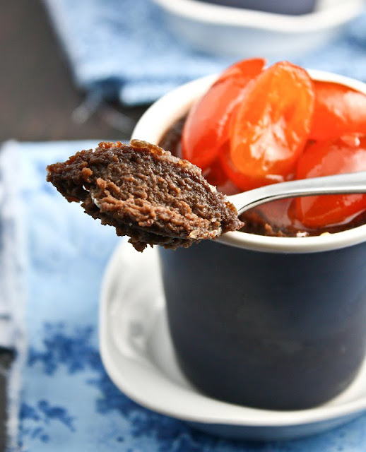 Chocolate Orange Pots de Creme with Candied Kumquats ...