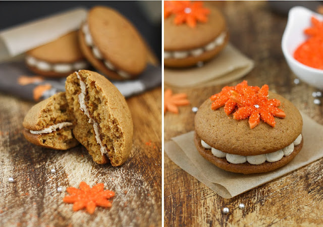 Sweet Potato Whoopie Pies with Maple Marshmallow Creme | Sprinkle ...
