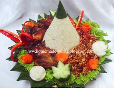 Repeat Order] Tumpeng Nasi Uduk From Mba Tyas Duri Riau
