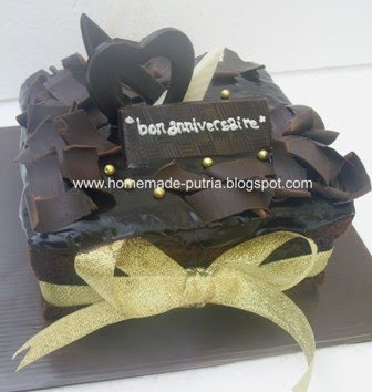 Order] Brownies Kukus Bday For Adit Jogja :: From Mba Irma Jakarta ::