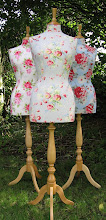Vintage Style Mannequins - Bespoke and 'Buy Now' mannequins, hand covered in beautiful fabrics.