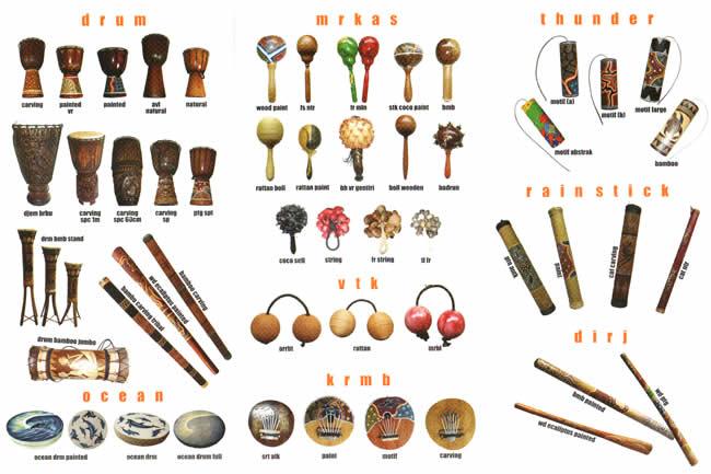 Music instruments bali