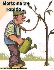 Umorismo esperantista: 4- Morte lenta