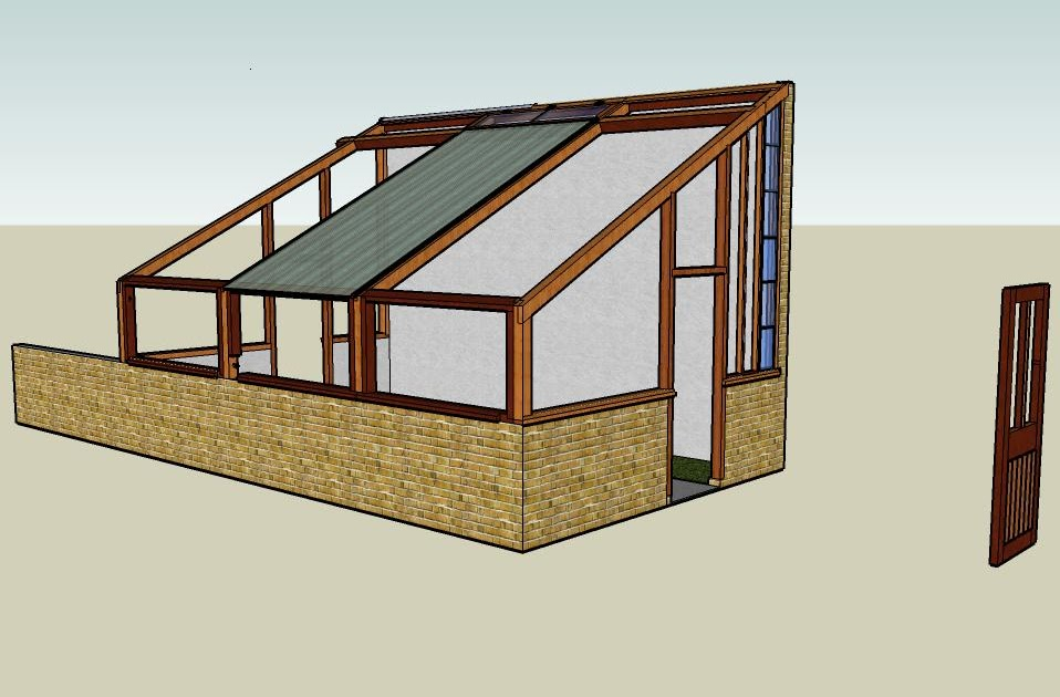 google sketchup how to make a house plan