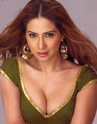 ... Kim Sharma Hot Pictures very Deep Cleavage sexy bra without clothes