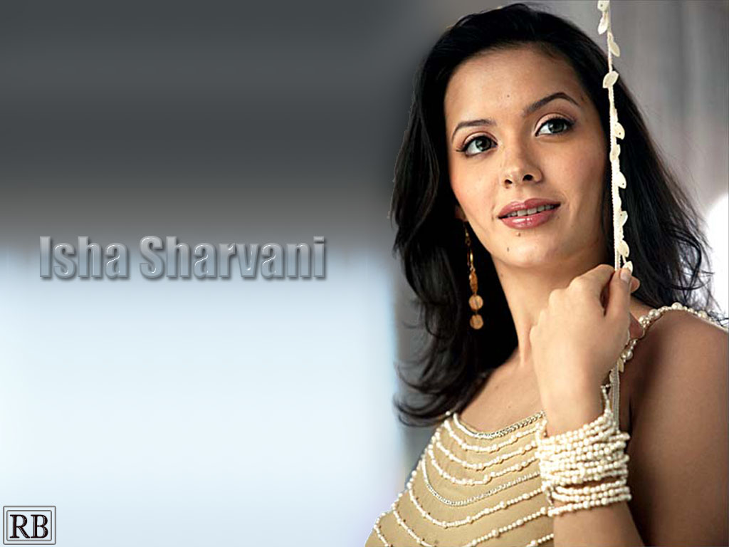 Isha Sharvani Wallpapers - Pictures - Bollywood Celebrities Photo Gallery -