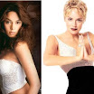 Mallika Sherawat and Sharon Stone