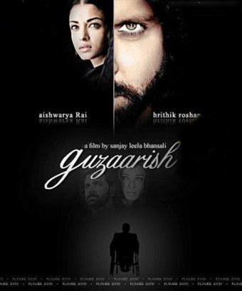 Guzaarish+Movie+Poster.jpg Guzaarish   Hindi Movie 2010 music zone music mp3 downloads