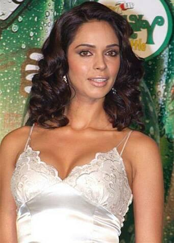 Mallika Sherawat Sexy White Dress