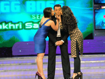 Salman Khan In Bigboss Show