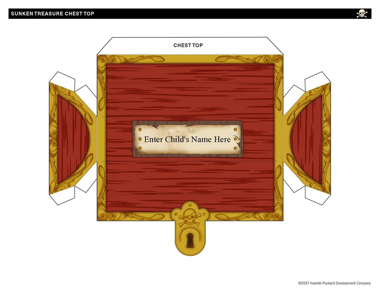 Сделать пиратский сундук из коробки своими руками