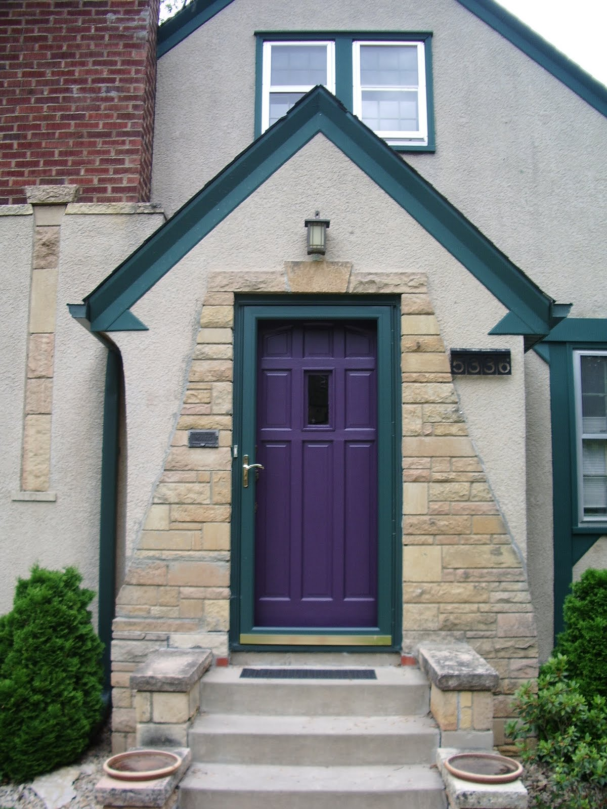 1600 #3F632C Habitat For Kris: Purple Door! wallpaper Purple Front Doors 47051200