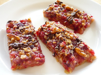 cranberry turtle bars november 2001 link to the recipe as