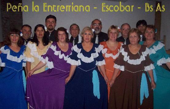 Grupo de Danzas Nativas Peña la Entrerriana