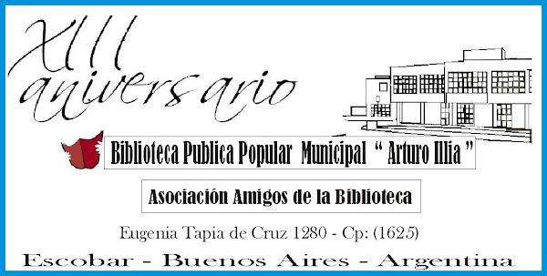 "Biblioteca Municipal "" Arturo Illia ""  1996 - 2009"