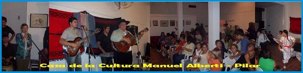 Encuentro en Casa de la Cultura de Manuel Alberti - Pilar 29/03/09