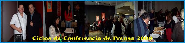"""Conferencia de Prensa 2009 - Periodico Folclorico """"El Palenque"""""""