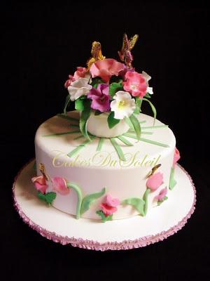 Sugar teachers cake decorating and sugar art tutorials 2 2 dimensional fondant flowers mightylinksfo