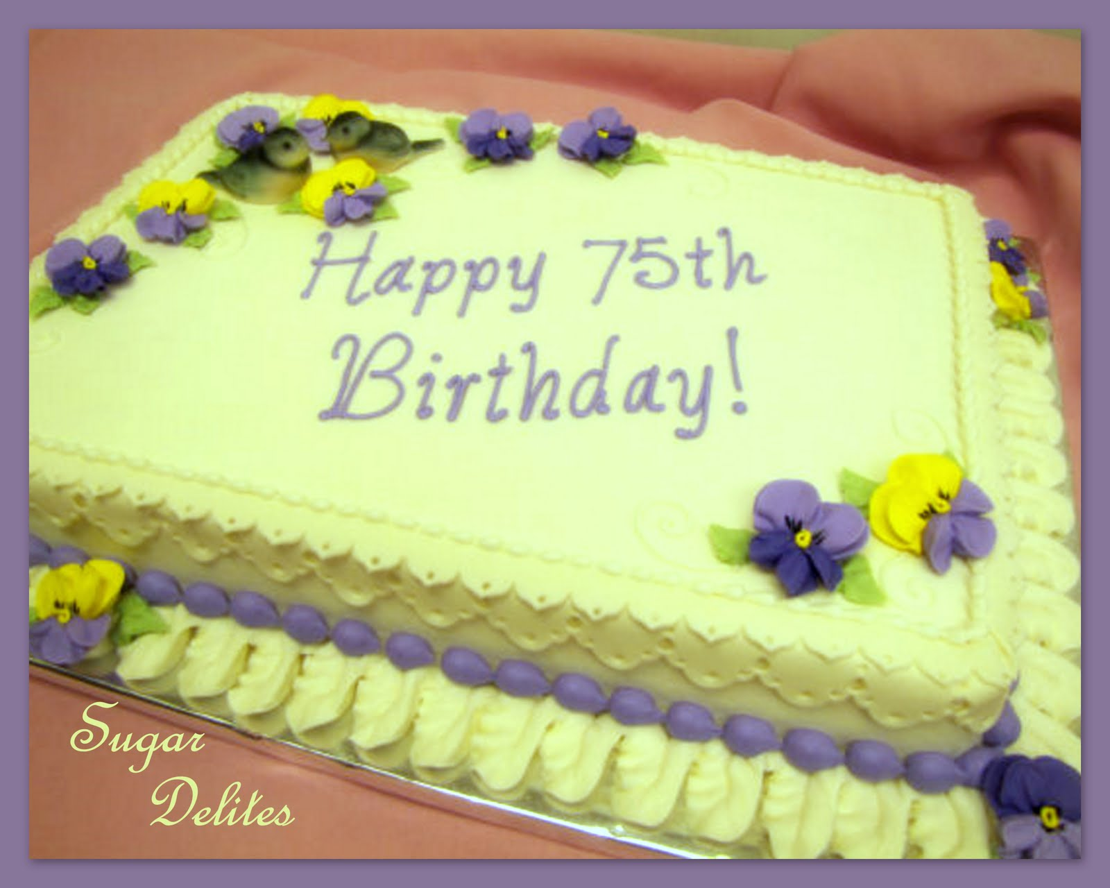 Cake Decorating Borders : ~ Sugar Teachers ~ Cake Decorating and Sugar Art Tutorials ...