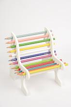 Porta lápis  Banquinho