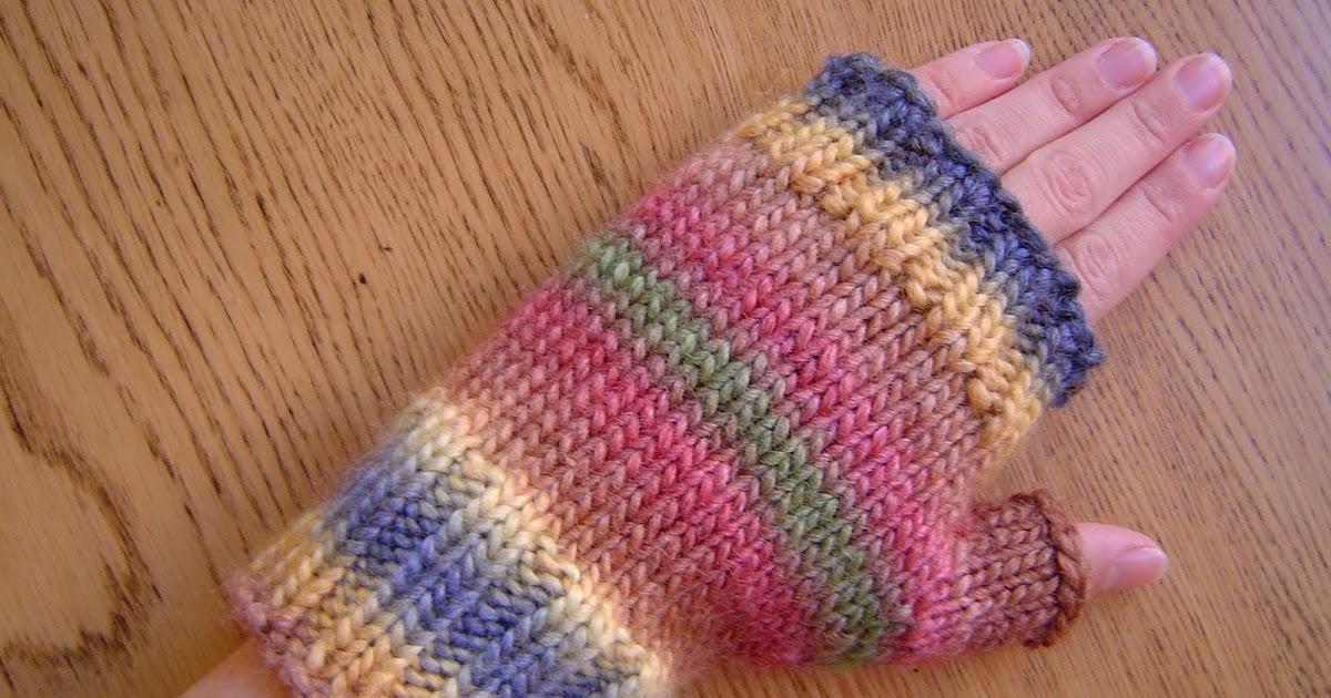 Magic Loop Fingerless Mittens Pattern Central Knittinghelp Forum