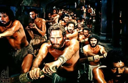 Ao Mestre com Carinho Ben-hur-rowing-slaves