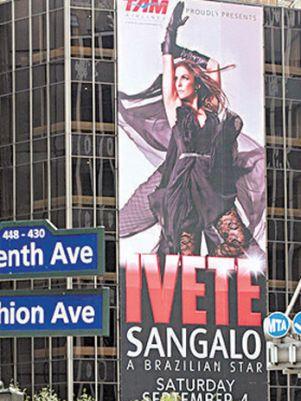 A baiana quer conquistar Nova York com show no Madison Square Garden