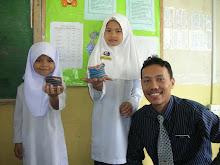 Bersama murid-muridku..