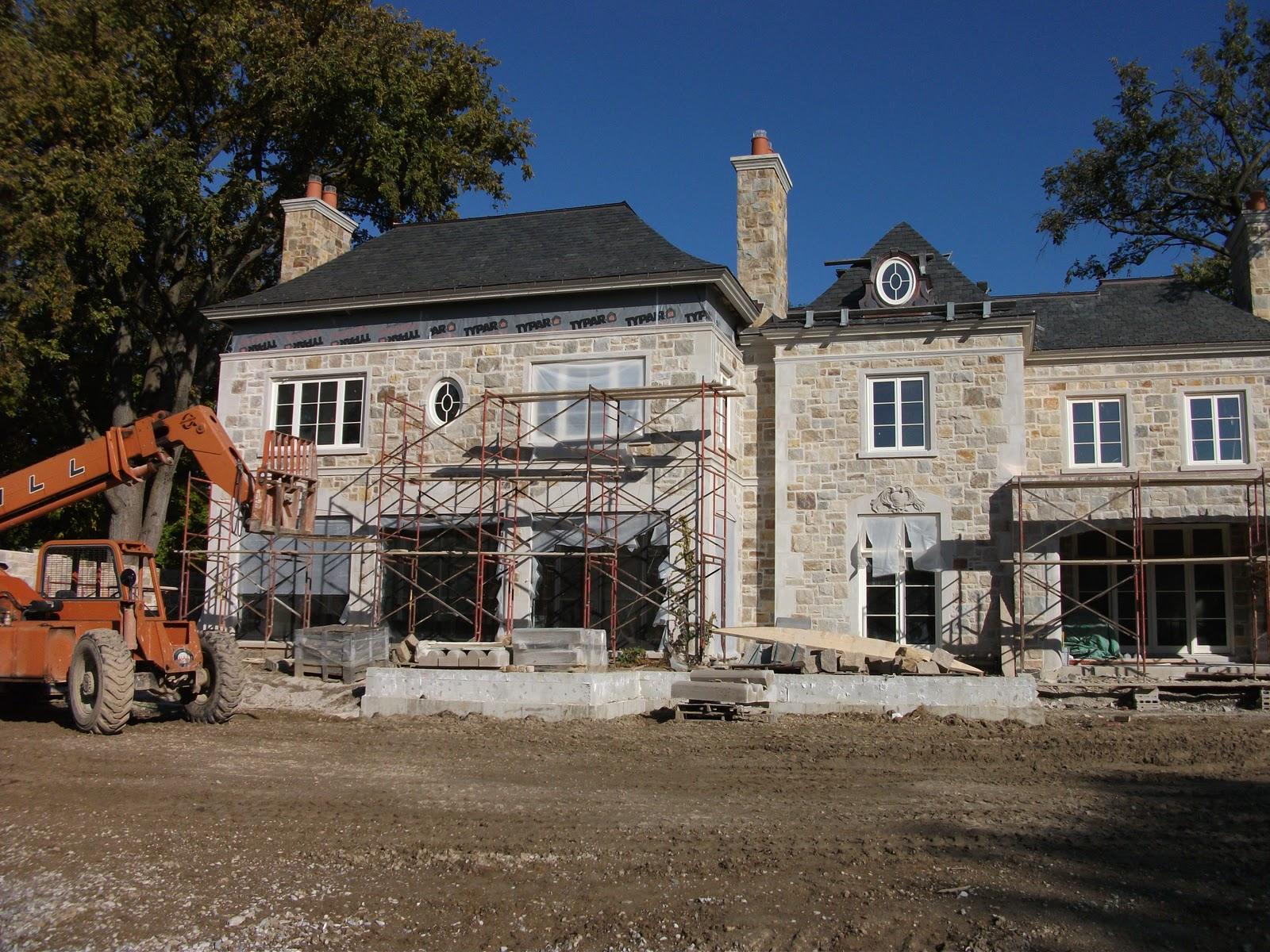 limestone & boxwoods