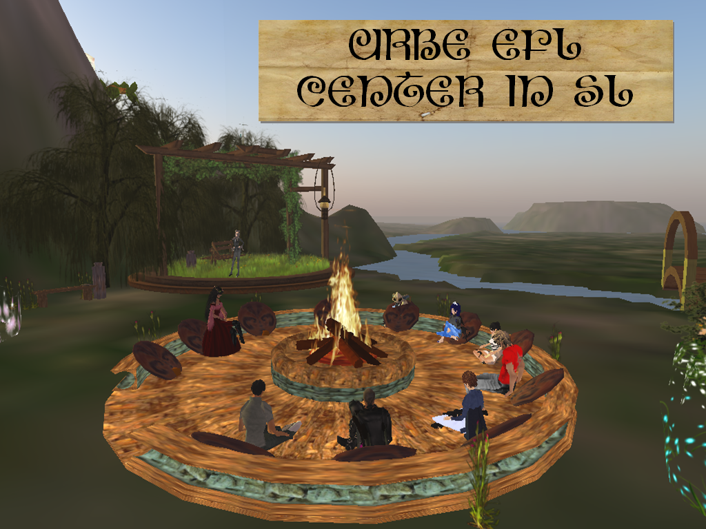 doris m efl center speaking group unit describing yourself urbe efl center in sl we are in second life please join us for some fun practice we ll learn a few basic things about sl roleplaying and learning