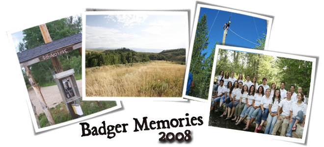 Badger Memories 2008