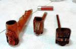 Mis pipas mexicanas artesanales