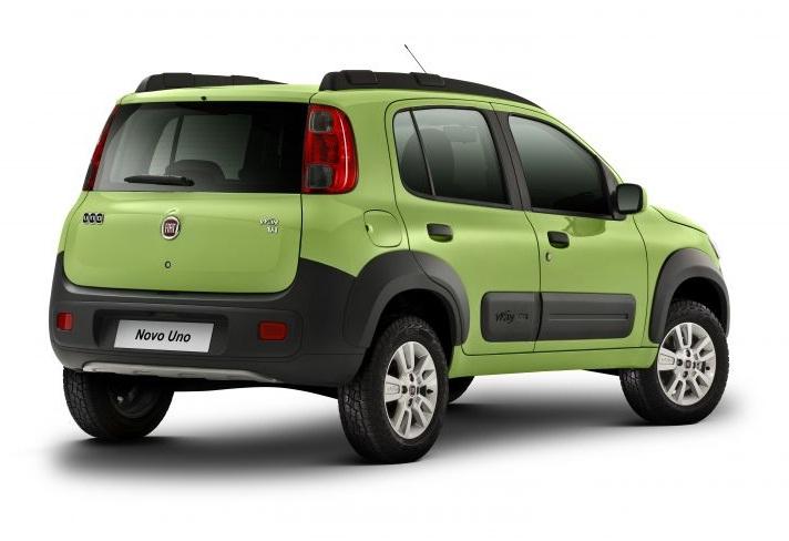novo do Novo Fiat Uno 2011