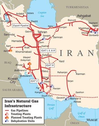 Afbeeldingsresultaat voor iran pipeline