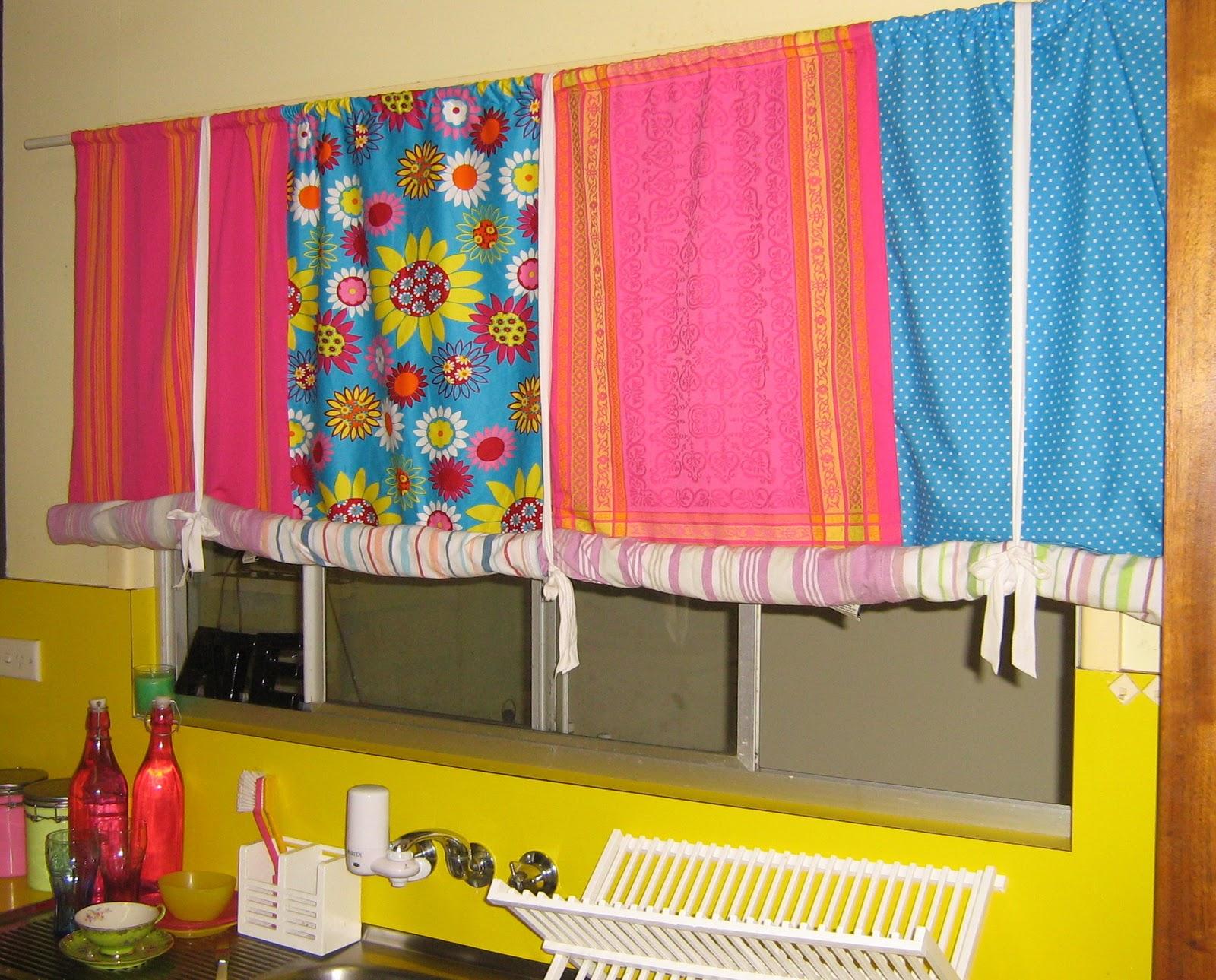 Retro kitchen curtains kitchen curtains