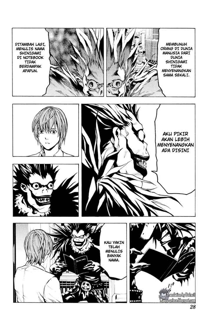 Death Note page 6