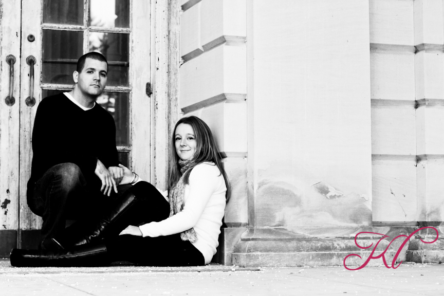 Here are some photos from my engagement session with Brooke & Seth.