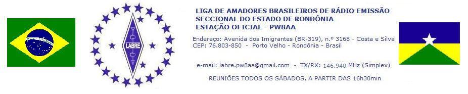 Blog da LABRE Rondônia - PW8AA