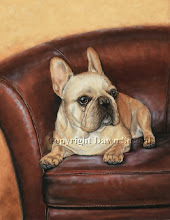 French Bulldog Painting Completed