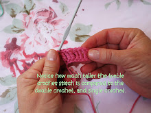 Crochet Tutorial: Treble Crochet